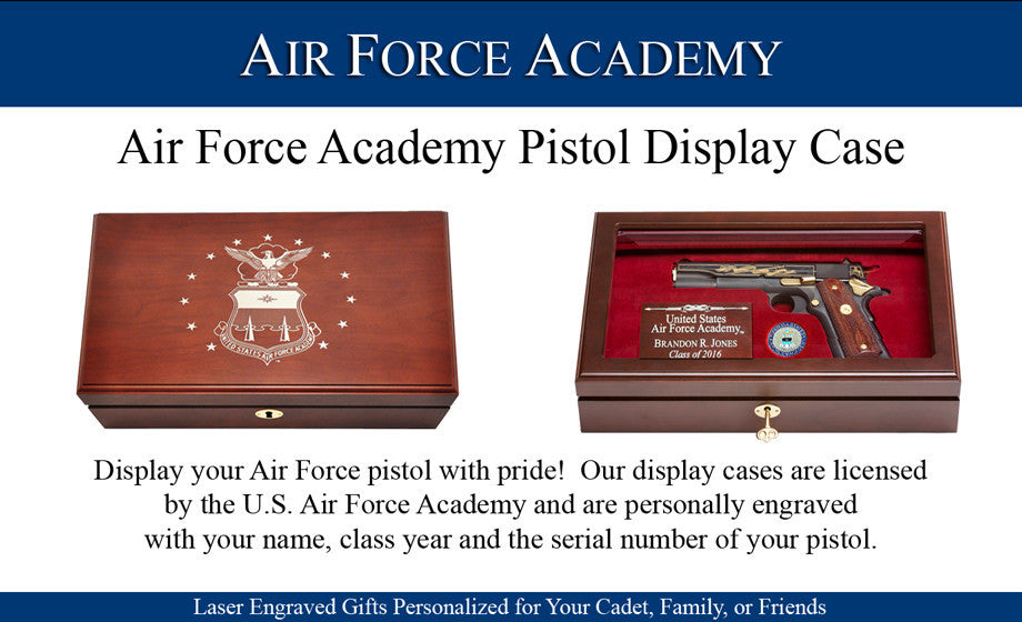 Air Force Academy Pistol Display Box