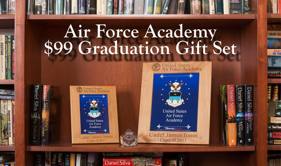 2016 Air Force Academy Graduation Personalized Gift Set