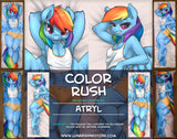 Color Rush Dakimakura
