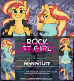 Rock It Girl by Agnistuff