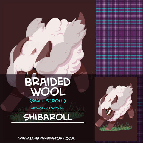 Braided Wool by Shibaroll