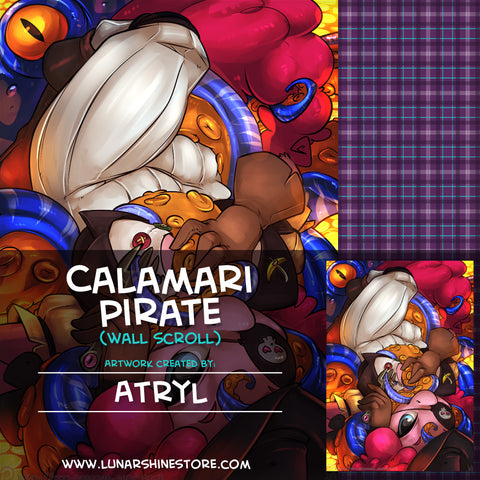 Calamari Pirate by Atryl