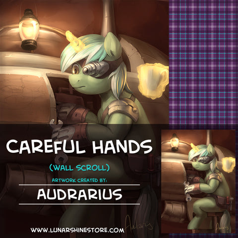 Careful Hands by Audrarius