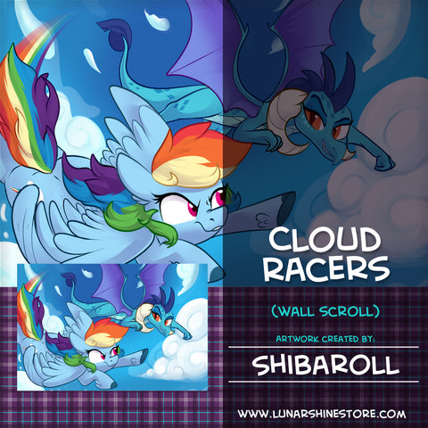 Cloud Racers by Shibaroll
