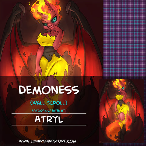 Demoness by Atryl