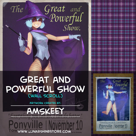Great and Powerful Show by AMSKeey