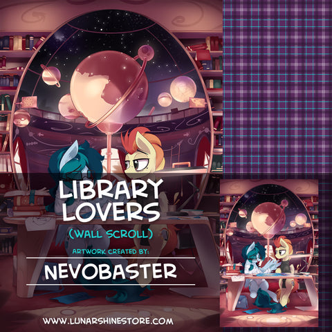 Library Lovers Wall Scroll by NevoBaster
