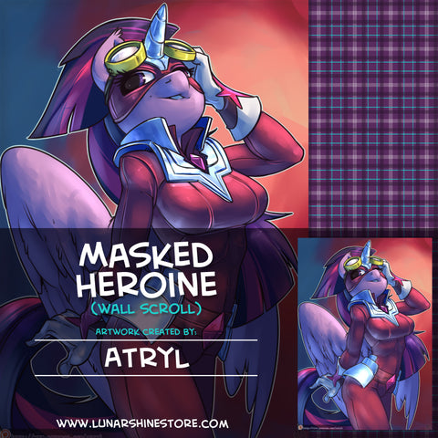 Masked Heroine by Atryl