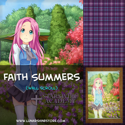Starswirl Academy - Faith Summers Wall Scroll