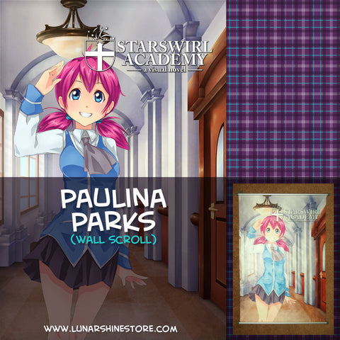 "Starswirl Academy - Paulina ""Polly"" Parks Wall Scroll"