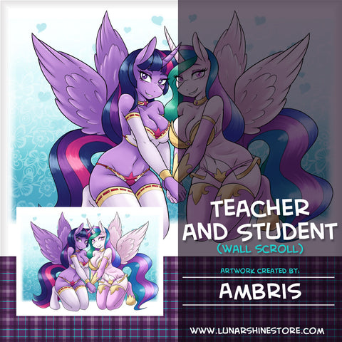 Teacher and Student by Ambris