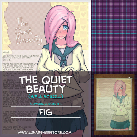 The Quiet Beauty Wall Scroll by Fig