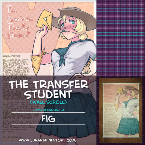Transfer Student Wall Scroll by Fig