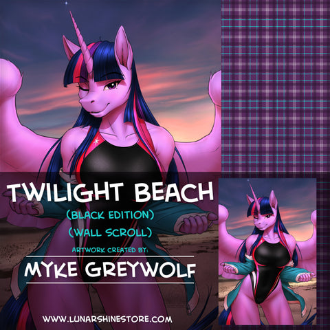 Twilight Beach by Myke Greywolf