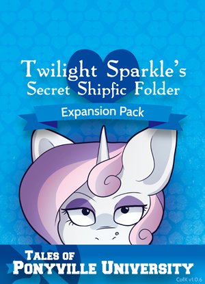 Tales from Ponyville University v1.0.6 Secret Shipfic Folder Mini Expansion