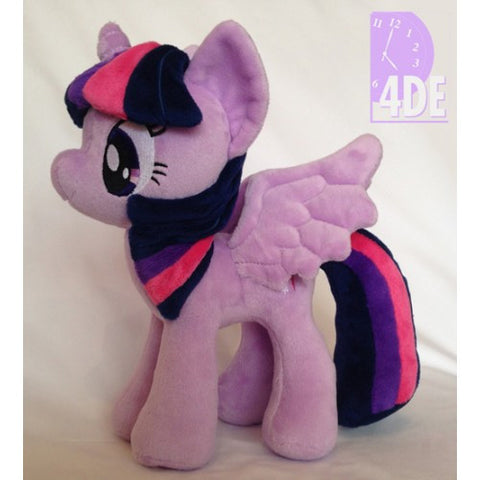 "My Little Pony Princess Twilight Sparkle 10.5"" Plush by 4DE"