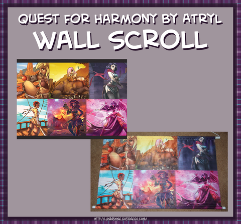 Quest for Harmony: The Six Wall Scroll