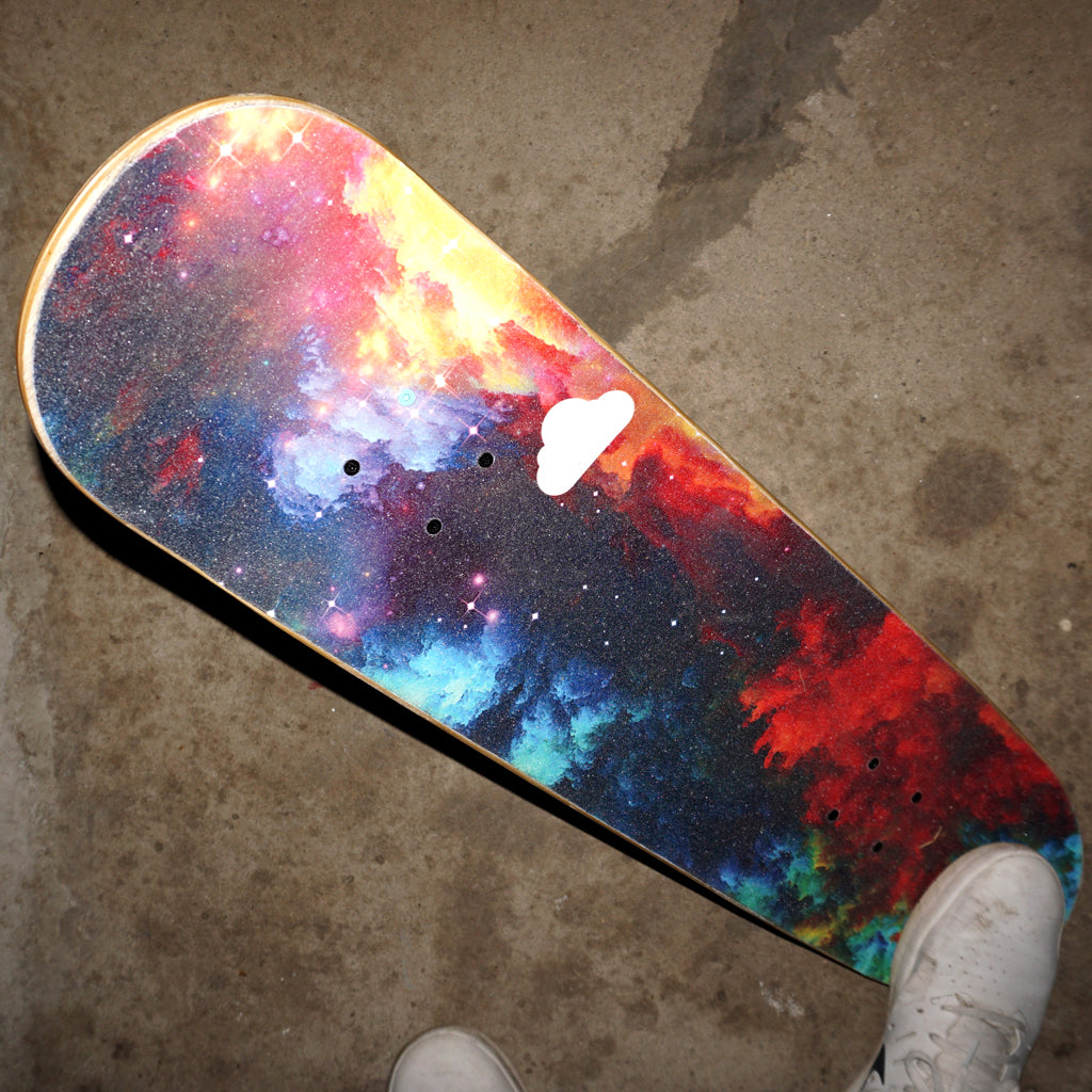 Watercolor Galaxy Griptape - Cloud 9 Griptape