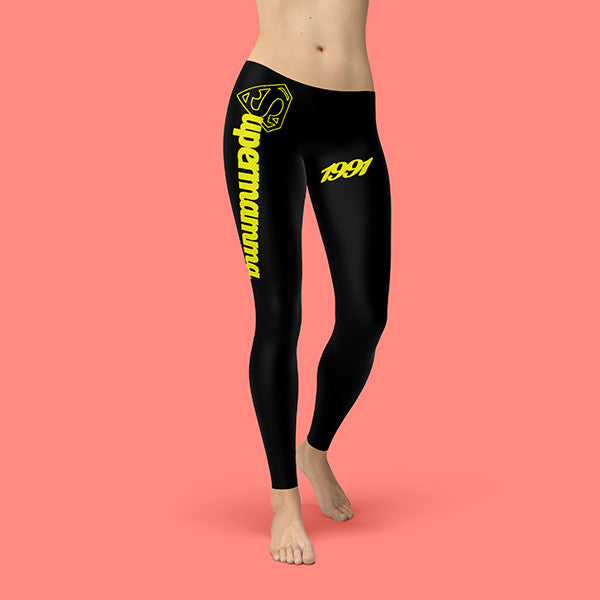 Legging Cotton Stretch Customizable - SUPERMAMMA - 1991 - BULLETTO