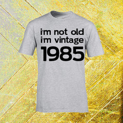 "T-Shirt Man ""I'M NOT ILD I'M VINTAGE"" SOOLIDIUM"