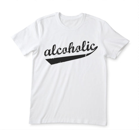 T-shirt Alcoholic