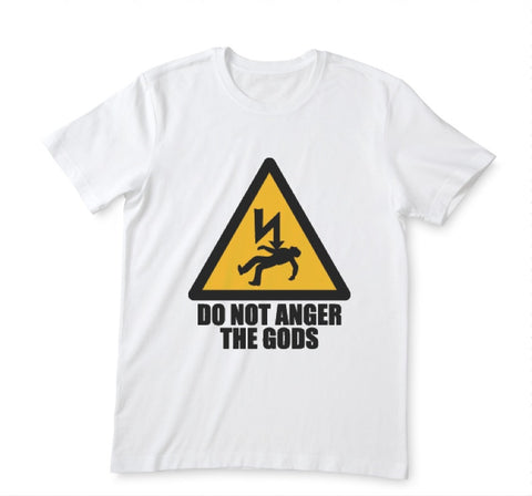 T-shirt Anger The gods