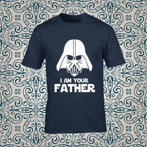 "T-SHIRT 100% COTTON "" I AM YOUR FATHER"""