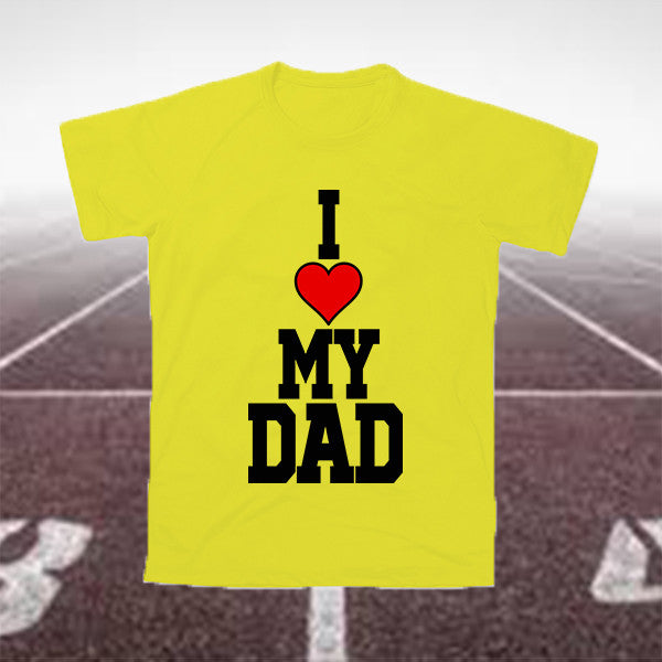 "T-Shirt Uomo ""I LOVE MY DAD"""