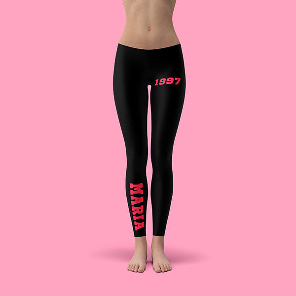 Legging Cotton Stretch Personalizzabili - 1997 - SPORT WORLD