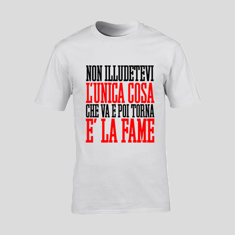 "T-Shirt Man ""NON ILLUDETEVI L"
