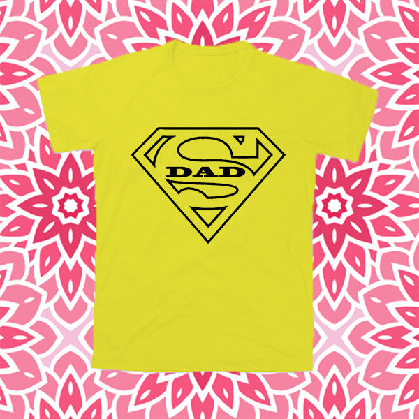 "T-Shirt Uomo ""SUPER DAD SUPERMAN"""