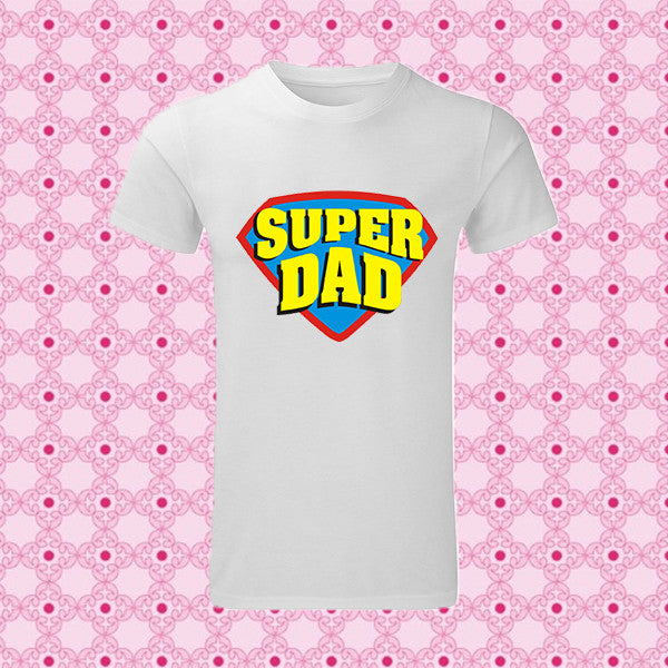 "T-SHIRT MAN ""SUPER DAD"""
