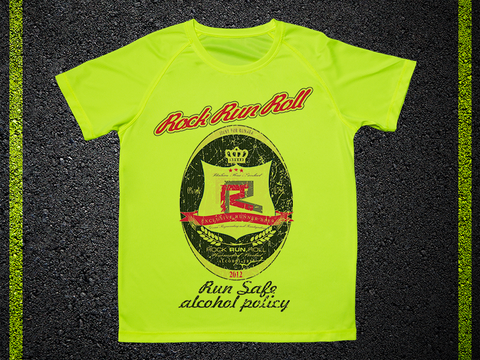 T Shirt Tecnica Beer Rock Run Roll