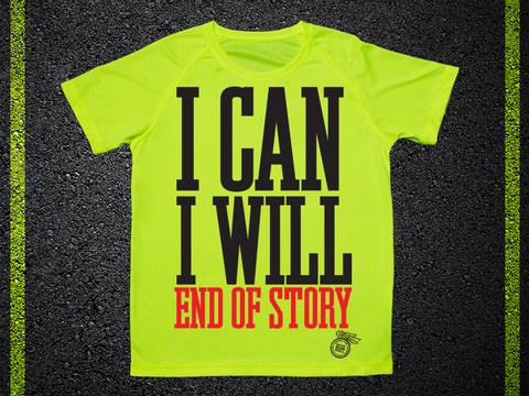 T Shirt Tecnica I Can I Will End Of The Story