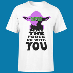 "T-SHIRT MAN ""MAY THE FORCE BE WITH YOU"""