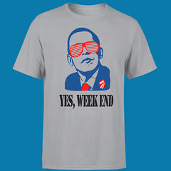 "T-SHIRT MAN ""YES WEEK END"""