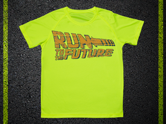 T Shirt Tecnica Run To The Future