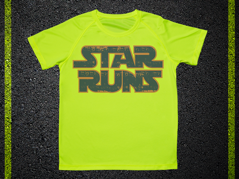 T Shirt Tecnica Star Runs
