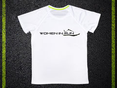 T Shirt Tecnica Woman in Run