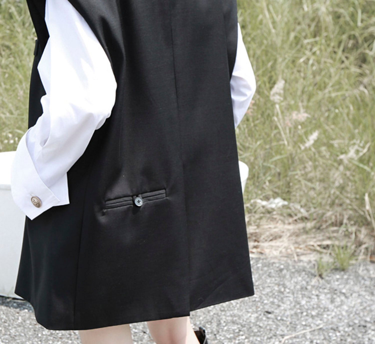 Oversized Tailored Vest