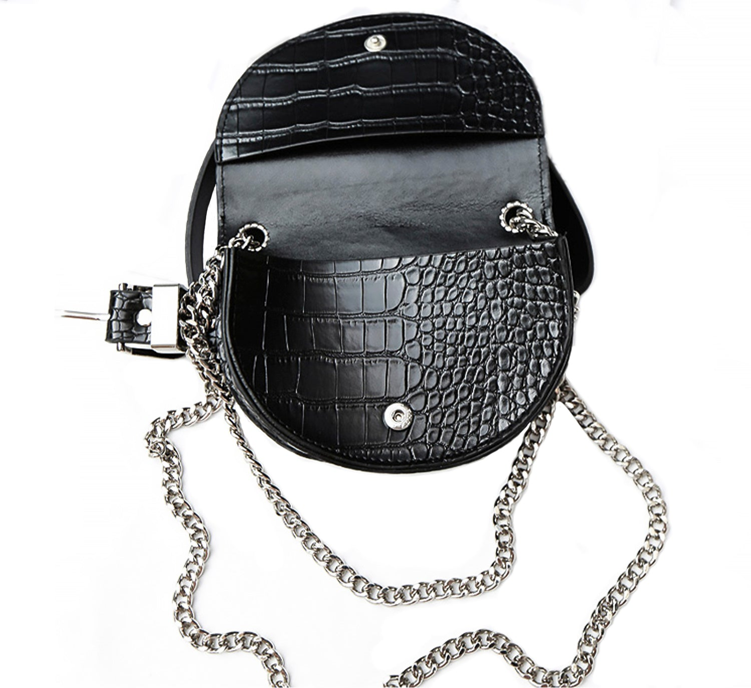 Croc Chain Mini Belt Bag