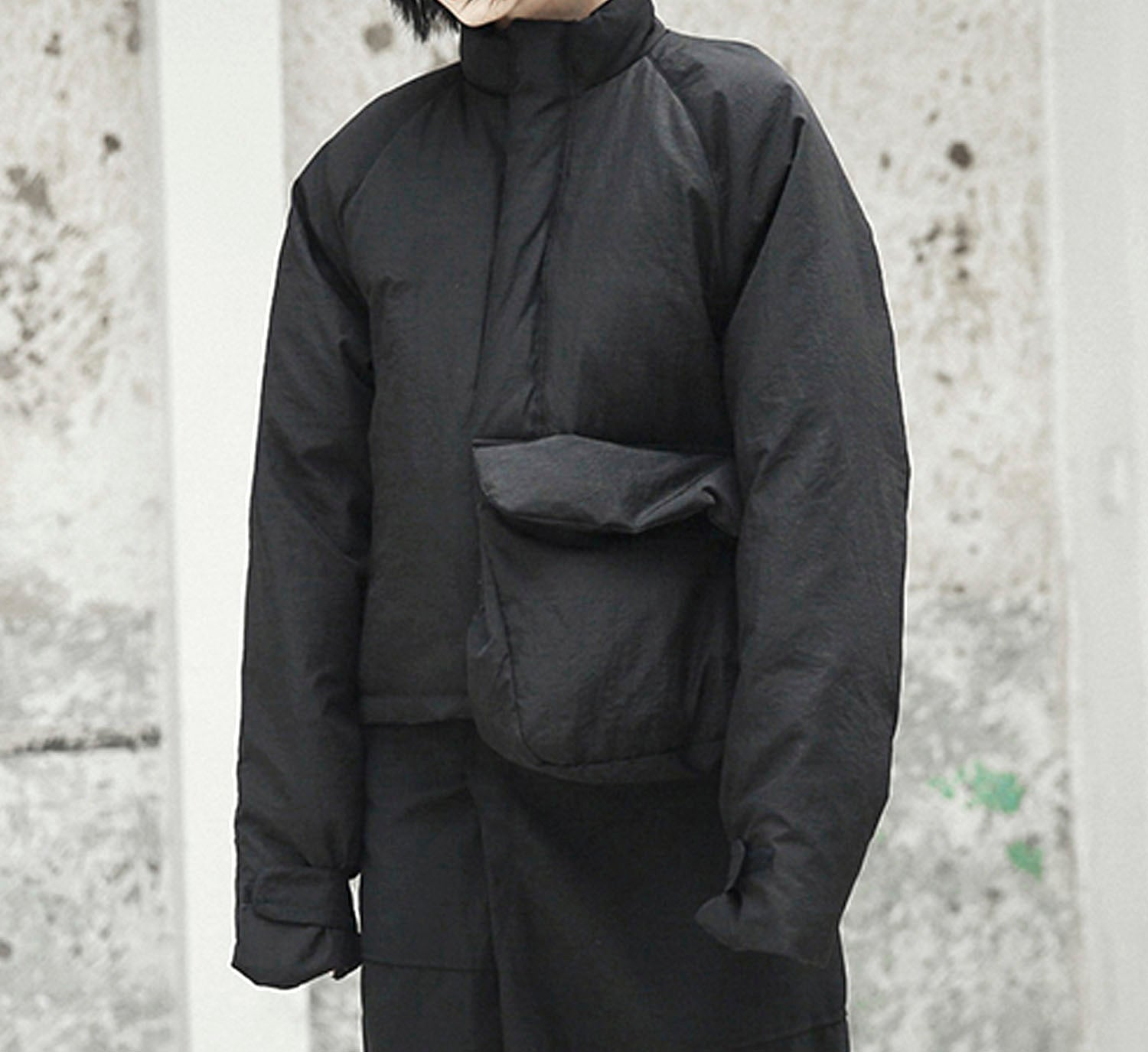 Large Pocket Puffer Jacket