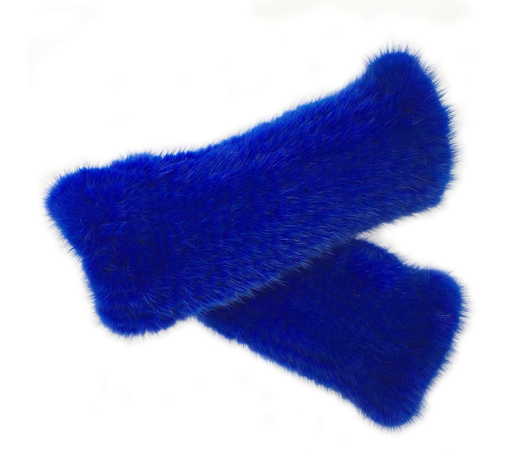 Fingerless Mink Fur Gloves