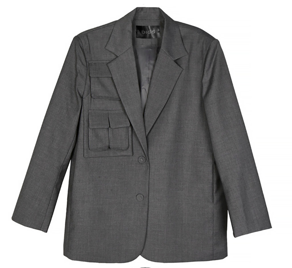 Multi  Pocket Blazer
