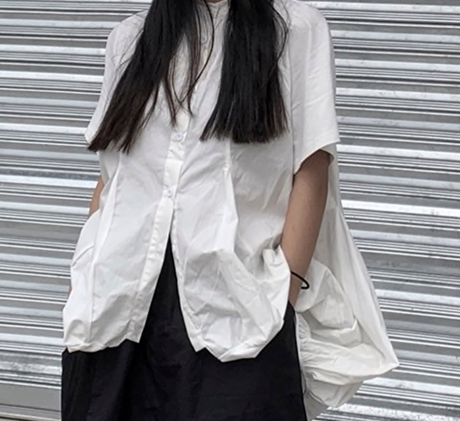 Bubble Poplin Shirt