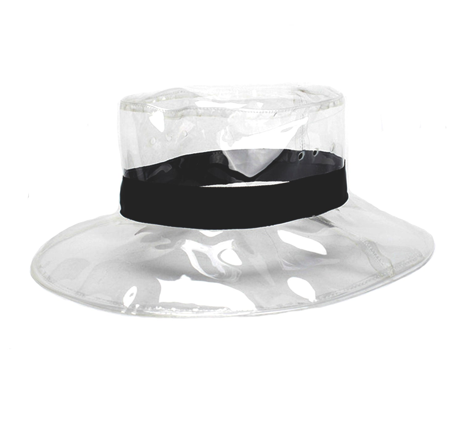 Transparent Rain Fedora Hat