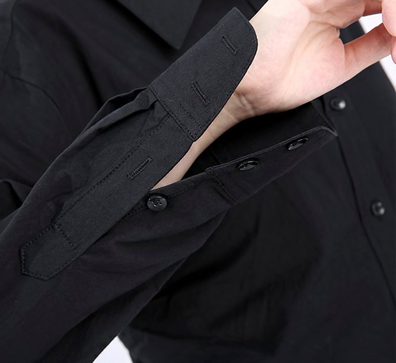 Ruched Bubble Shirt Dress
