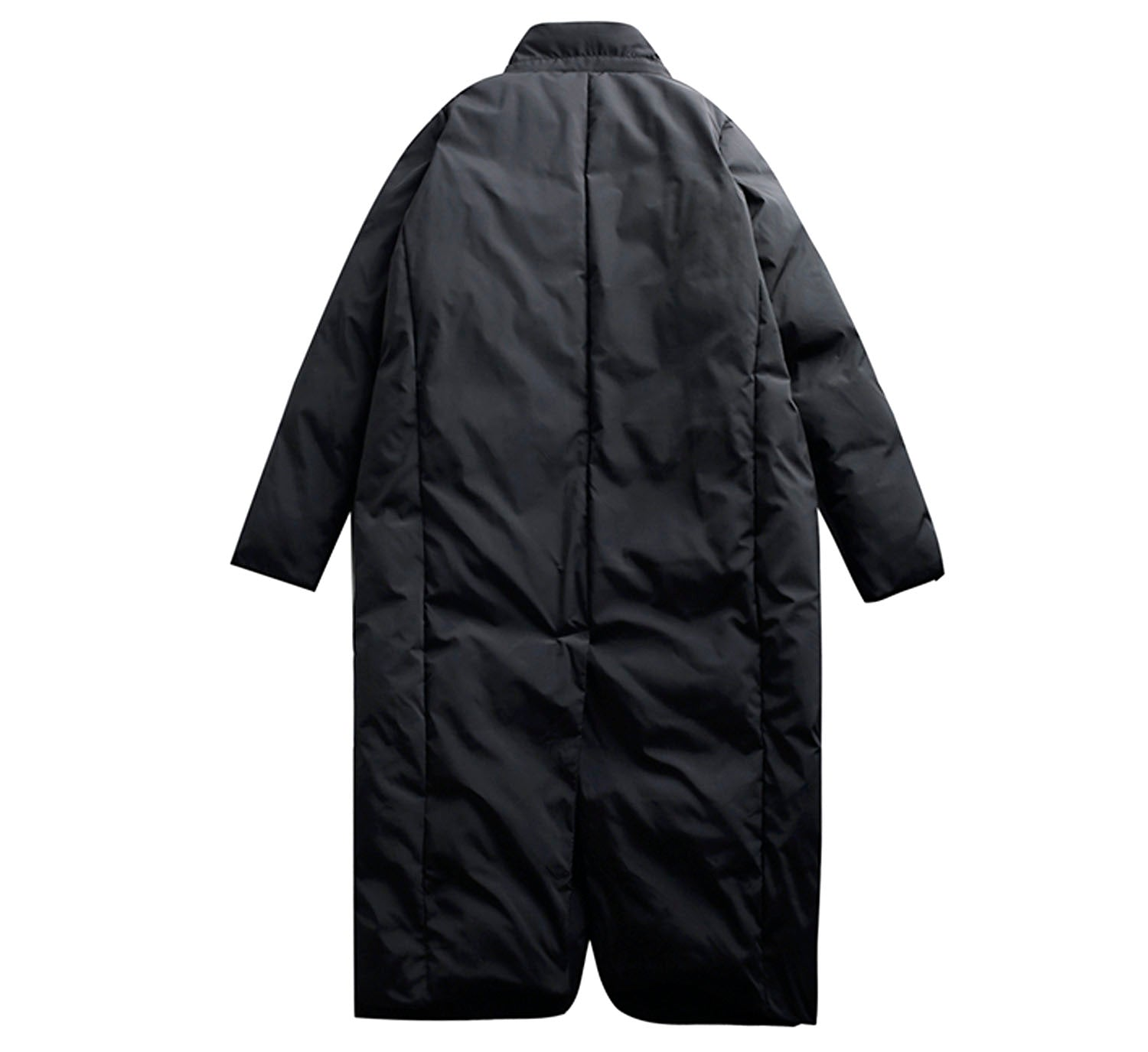 Slim Double Breasted Puffer Coat