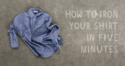 How to iron a button-up shirt in 5 minutes photo