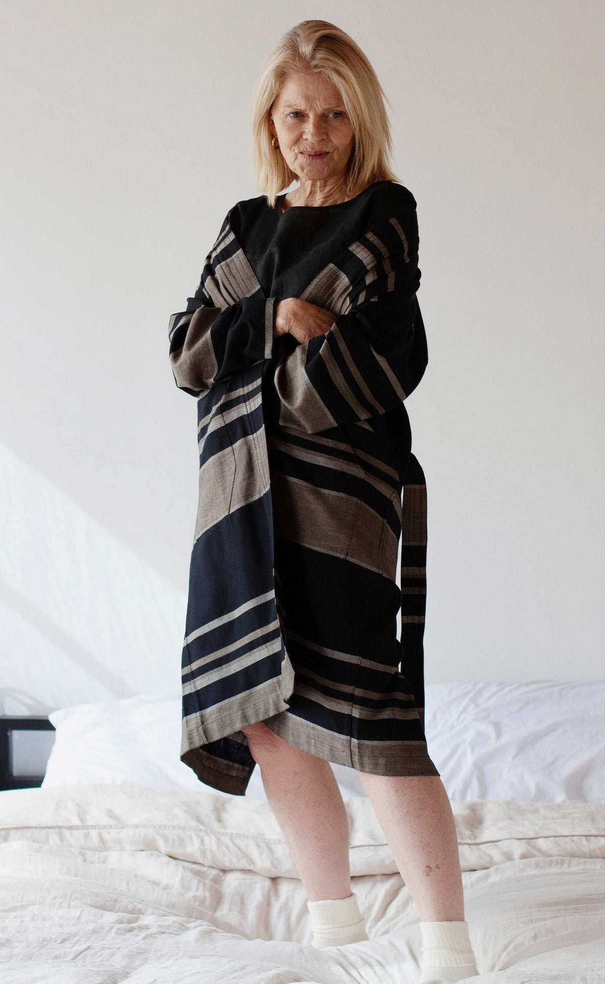 The Artist - Belted Long Duster Coat